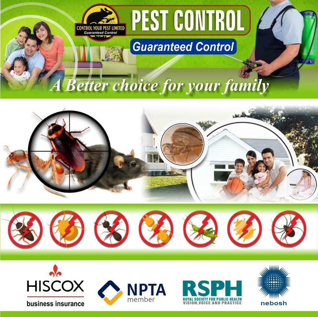 Pest Control  Upper Edmonton N18