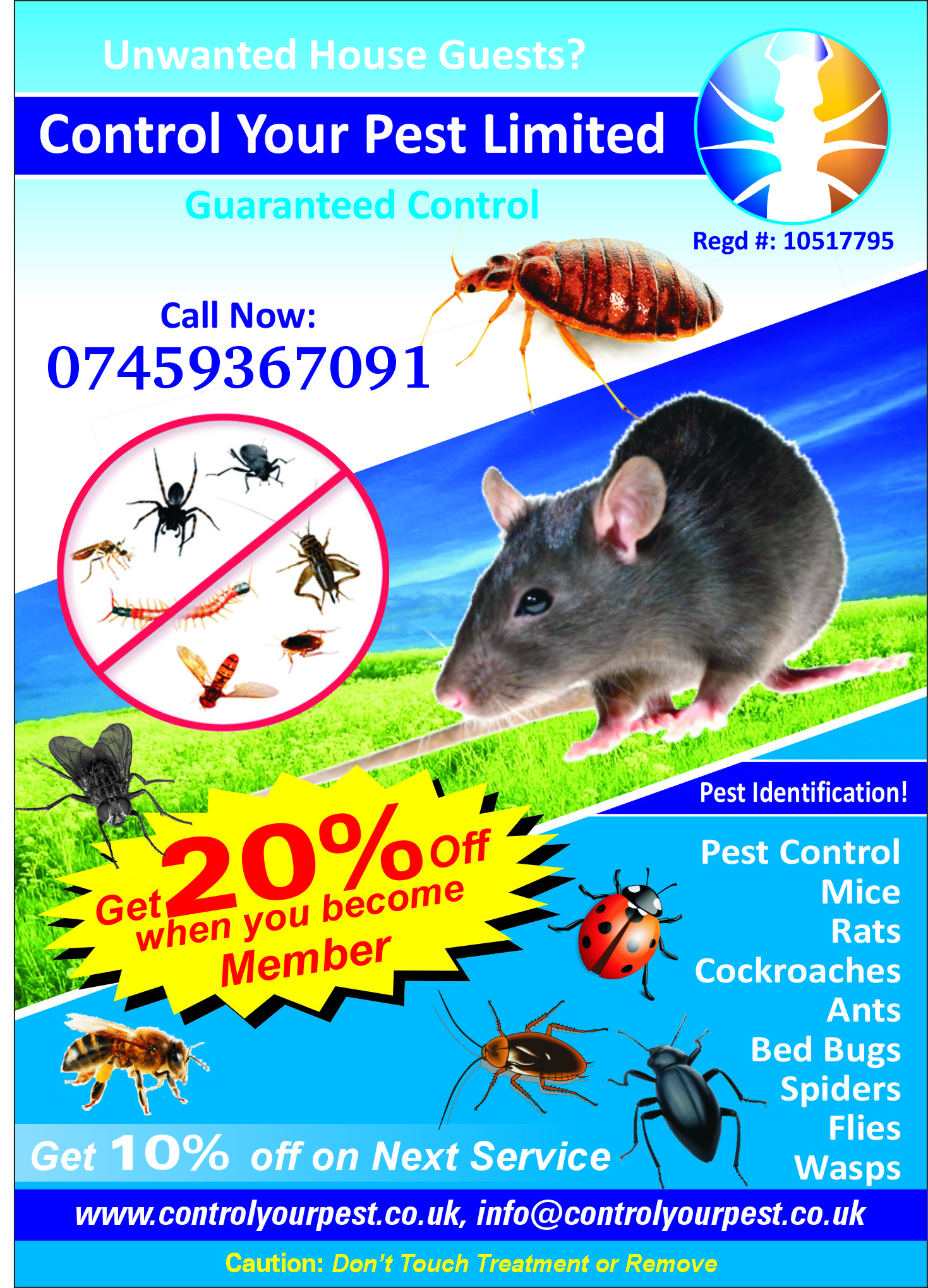 Pest control haringey n15